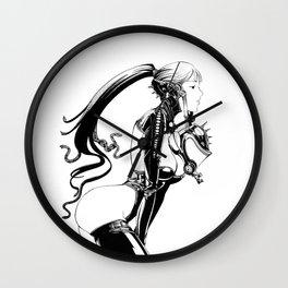 Fetish Girl Wall Clock