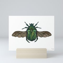 Egyptian Scarab Mini Art Print