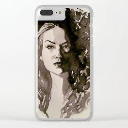 Carmilla Clear iPhone Case