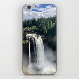Over the Falls iPhone Skin