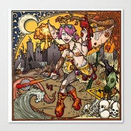 Chaos & Entropy Fairy Canvas Print
