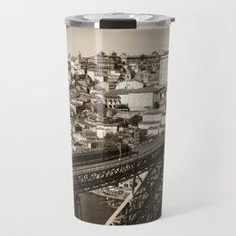 Porto sepia Travel Mug