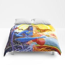 Shiva and Shakti Comforters