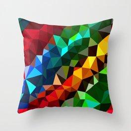 Geometric elements Throw Pillow