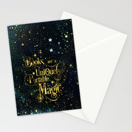 Books Are a Uniquely Portable Magic Stationery Cards