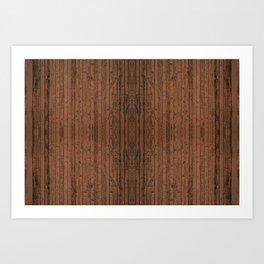 Planks a Lot Art Print