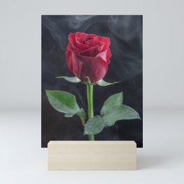 Smokin Rosie Mini Art Print