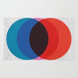 Abstract and minimalist pattern Rug