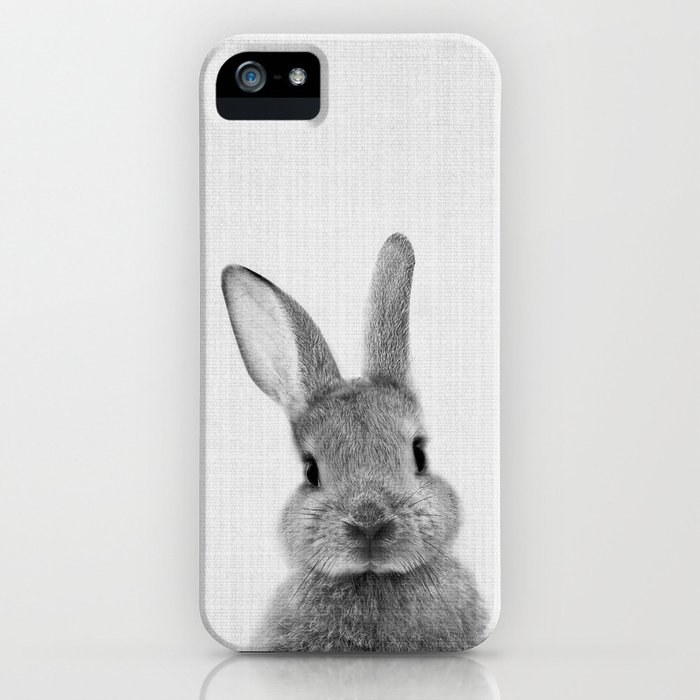 print 48 - peekaboo bunny iphone case