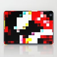 pixel iPad Cases featuring pixel by shopcicelysiller