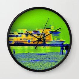 """GHOSTSHIP - Baltic Sea - """"VACANCY zine"""" Wall Clock"""