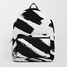 Abstract Monochrome 02 Backpack