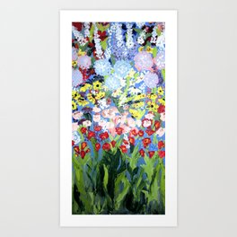 then comes spring Art Print
