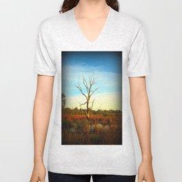 Cockatoo Tree Unisex V-Neck