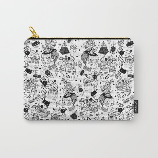 Las Chulas Carry-All Pouch