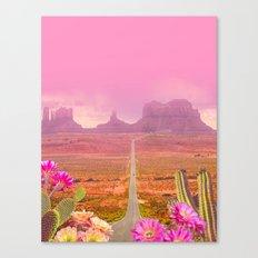 Road landscape Canvas Print