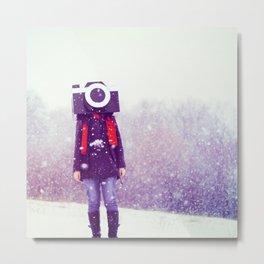 Photography Addict Metal Print