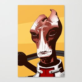 Mass Effect - Mordin Solus Canvas Print