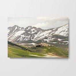 Italian mountain landscape Metal Print