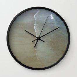 Tidal Reflections Wall Clock