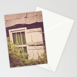 Antique Window Stationery Cards