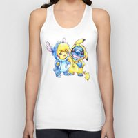 projectrocket Tank Tops featuring No one gets left behind. by Randy C