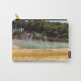 Wai-O-Tapu Geothermal, New Zealand Travel Artwork Carry-All Pouch