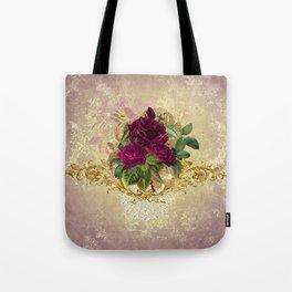 Decadent Velvet Rose Tote Bag