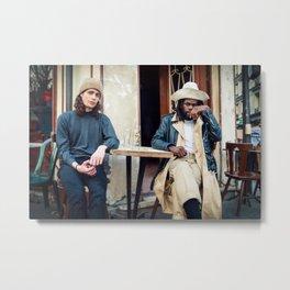 Parisian Mugshots - Jack Sparrow (Gueules de Parisiens) Metal Print