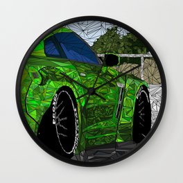 Fractal-Esq Liberty Walk Nissan GTR Wall Clock