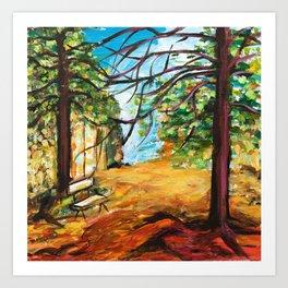 Woodland Beauty Art Print