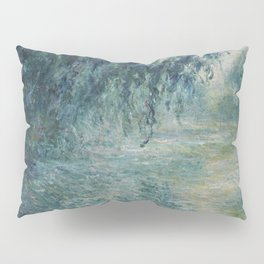 Morning on the Seine, Claude Monet Pillow Sham