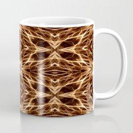 Abstract Geometric Light Factual Copper Coffee Mug
