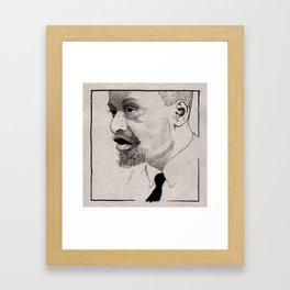Junior Mance Framed Art Print