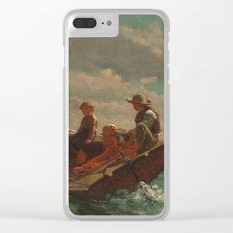 Breezing Up (A Fair Wind) Clear iPhone Case