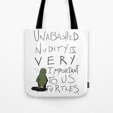 Teenie Turtle Weenie Tote Bag