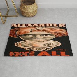 Vintage poster - Alexander, Crystal Seer Rug
