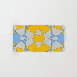Abstract Retro Colored Butterfly Hand & Bath Towel