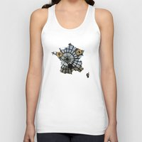 france Tank Tops featuring France by Isabel Moreno-Garcia