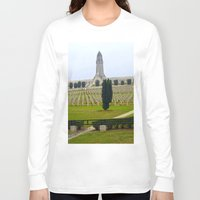 battlefield Long Sleeve T-shirts featuring Verdun Memorial 14-18  by Premium