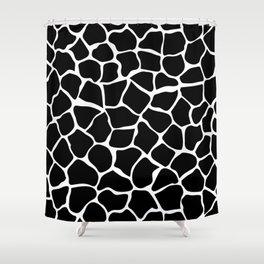 Black & White Animal Print Shower Curtain