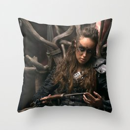 Lexa 02 Throw Pillow