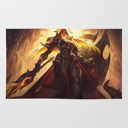 Solar Eclipse Leona League Of Legends Rug