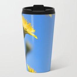 Dandelion Flowers Travel Mug