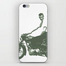 Dad on a Bike iPhone & iPod Skin