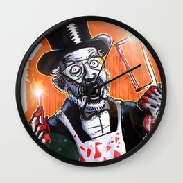 Dr. Demento: Not a real Doctor Wall Clock