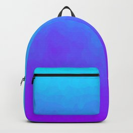 Blue and Purple Ombre - Swirly Backpack