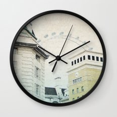Letters From The London Eye Wall Clock