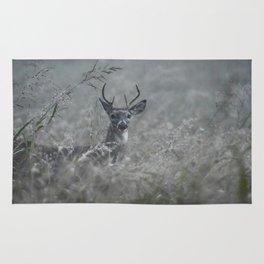 Foggy Morning Buck Rug