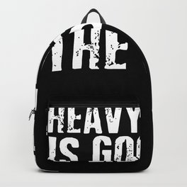 Heavy Metal Is Good For The Soul Backpack